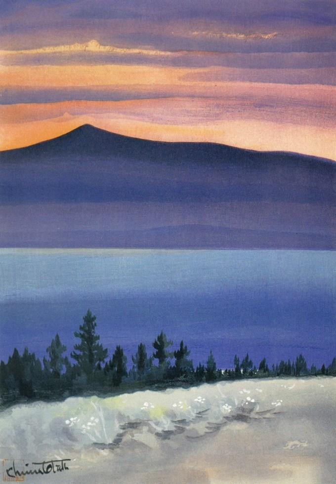 Chiura Obata S Stunning Paintings Of Yosemite Brain Pickings