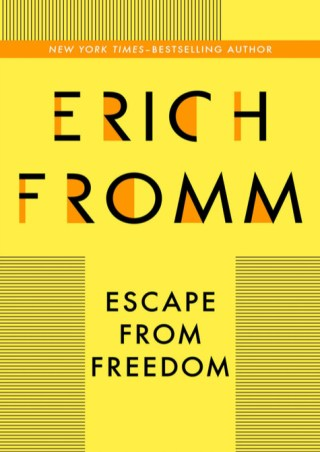 The Paradox of Freedom: The Great Humanistic Philosopher and Psychologist Erich Fromm on Moral Aloneness and Our Mightiest Antidote to Terror