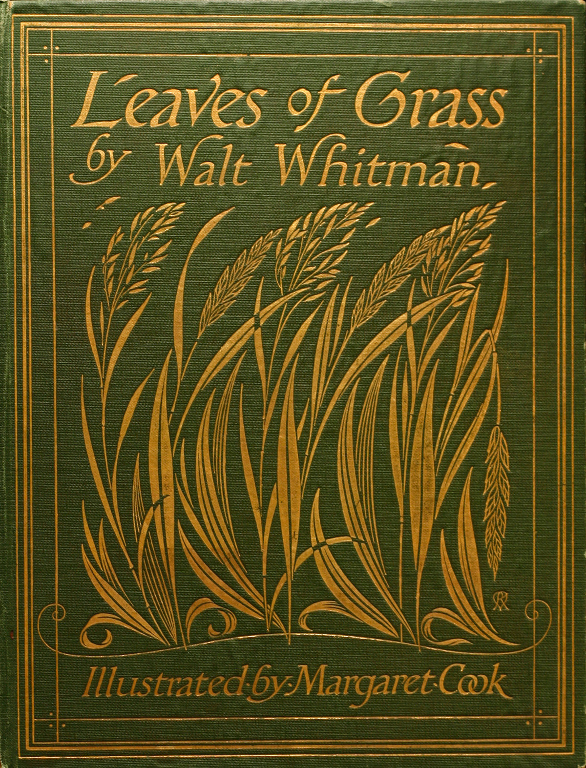 Stunning, Sensual Illustrations for a Rare 1913 Edition of Walt Whitman's 'Leaves of Grass' by English Artist Margaret C. Cook