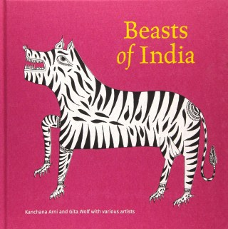 Beasts of India: Stunning Illustrations of Indigenous Animals Depicted in Various Tribal Art Traditions