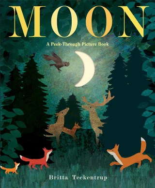 Moon: A Peek-Through Picture-Book About the Most Beloved Fixture of the Night Sky