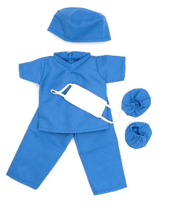 18 inch medical scrubs