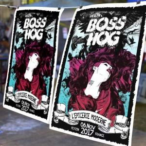 boss hog poster