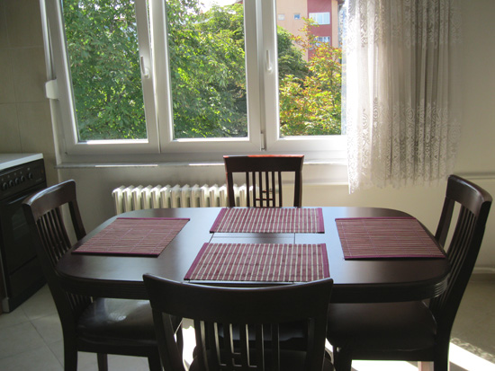 My second apartment in Sarajevo: $500 per month, including all utilities.