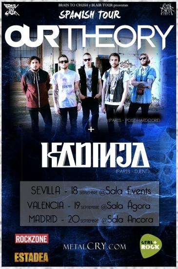 our theory kadinja spanish tour