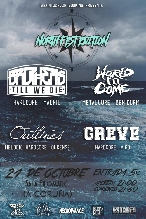 braintocrush north fest edition