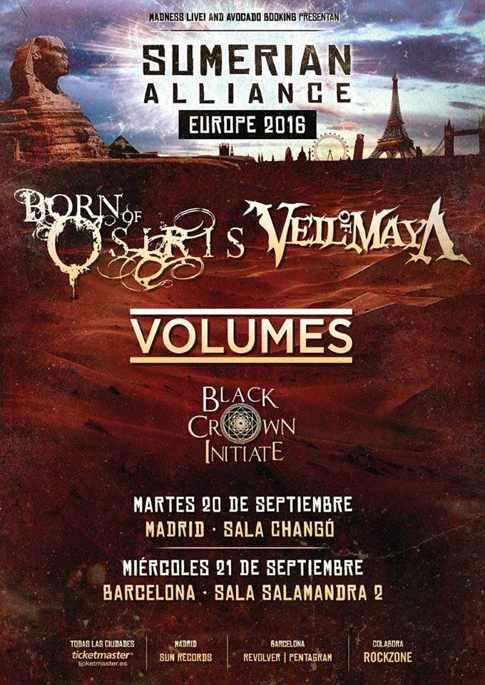 Born Of Osiris España