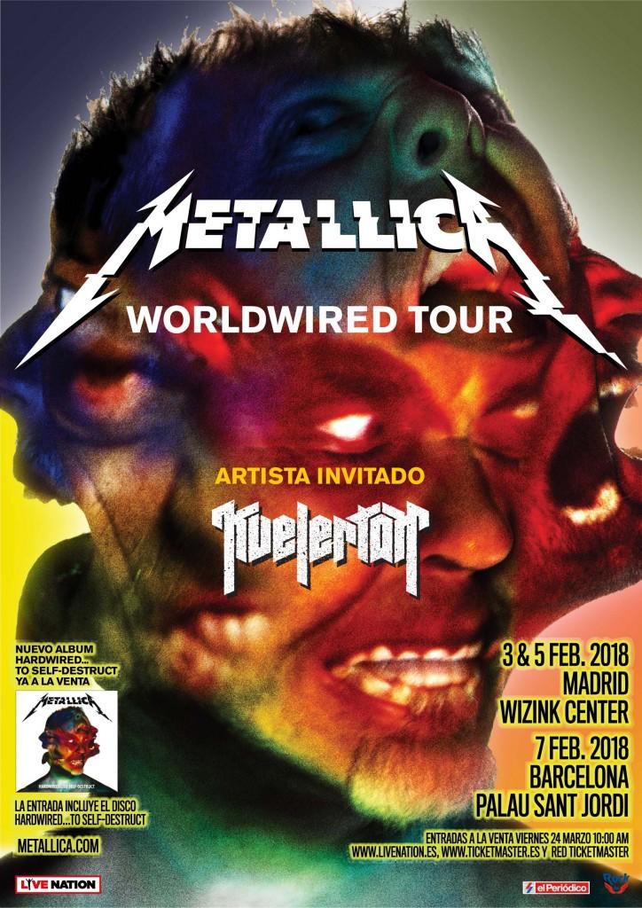 Metallica españa