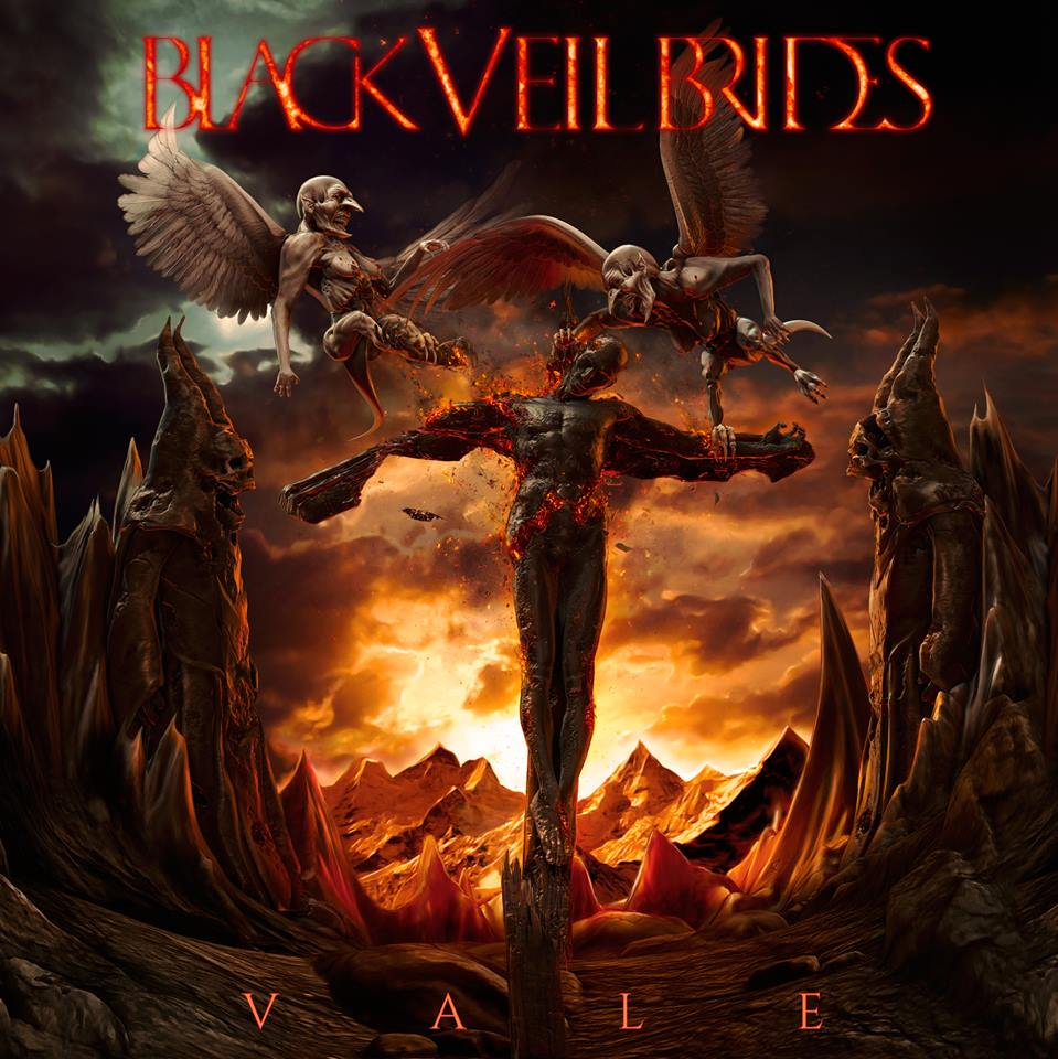 black veil brides vale artwork