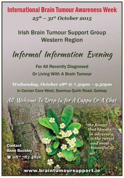 International Brain Tumour Awareness Week 2015