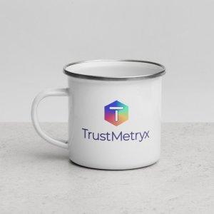 TrustMetryx Enamel Mug