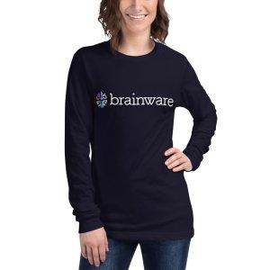 Brainware Unisex Long Sleeve Tee