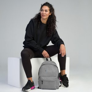 Brainware Academy Embroidered Backpack