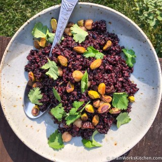 Black-forbidden-rice-salad|brainworkskitchen.com