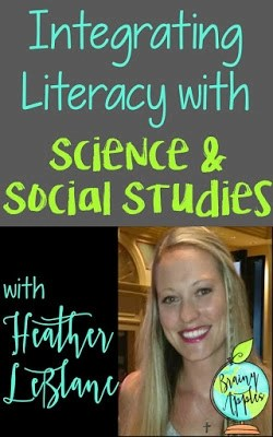 Easy Ways to Integrate Literacy With Your Science & Social Studies