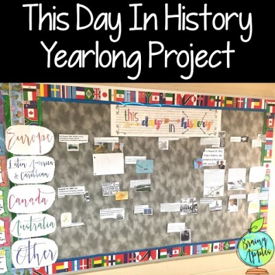 This Day In History Yearlong Project