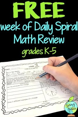 Spend Less Time Reteaching Using Daily Spiral Math