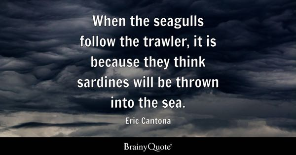 In my career, i tried to do more of the first than the second. when times. Eric Cantona Quotes Brainyquote