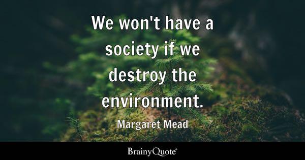 Environmental Quotes - BrainyQuote