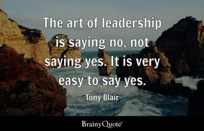 Image result for quote the ability to say no classic