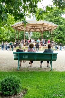 """Milonga """"Despedida"""" pour les 20ans de """"Braise Tango"""" au parc Thabor à Rennes."""