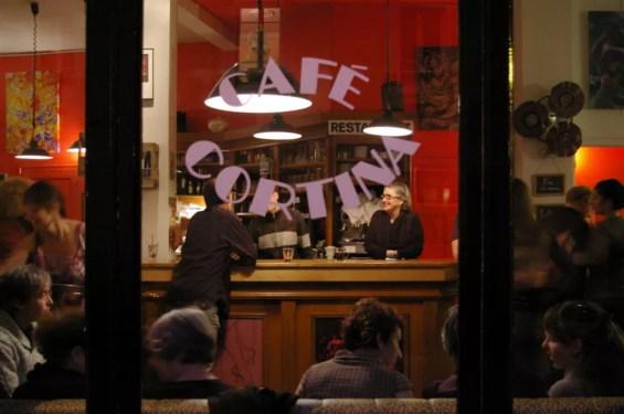 Le Café Cortina. Photo Timothée