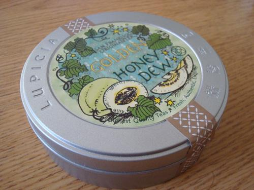 Lupicia Golden Honey Dew Rooibos Tea tin