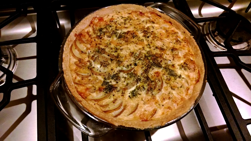[image: potato and gorgonzola pie]