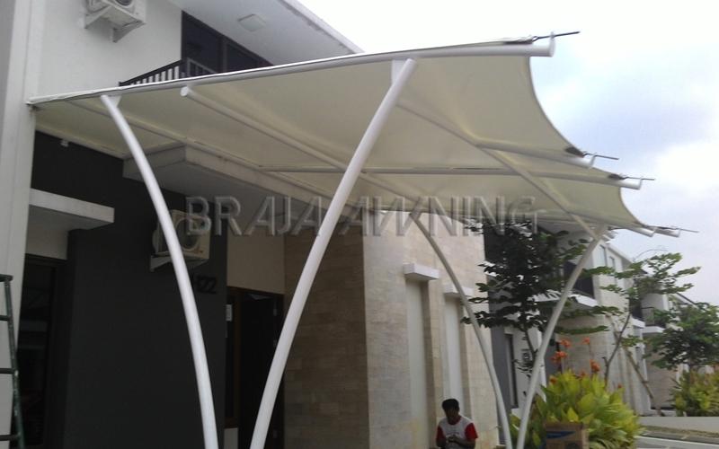 tenda membrane braja awning