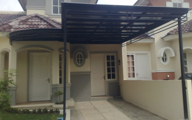 canopy polycarbonate garasi mobil