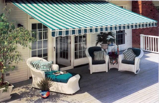 kanopi kain minimalis teras belakang rumah