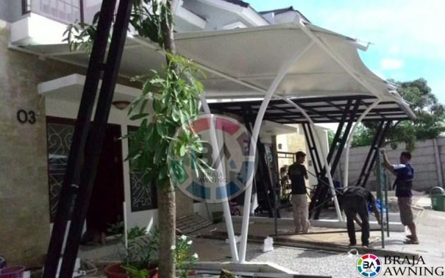 tenda membrane jakarta perumahan 4