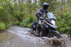 The strom was capable but limited off-road.