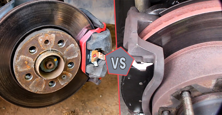 Ceramic vs Metallic Brake Pads
