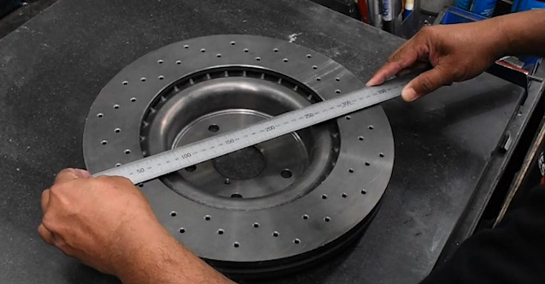 How to Measure Rotor Size FI