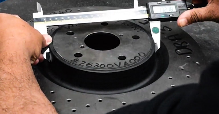 How to Measure Rotor Size