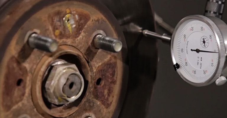 Take the Brake Disk Out and Check for Damage