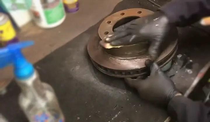 Can I Hand Sand Brake Rotors