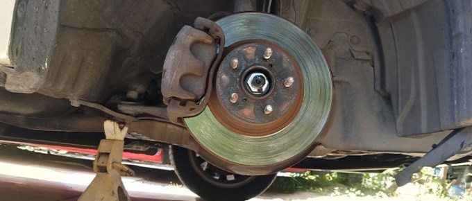 What causes brake pads to chatter