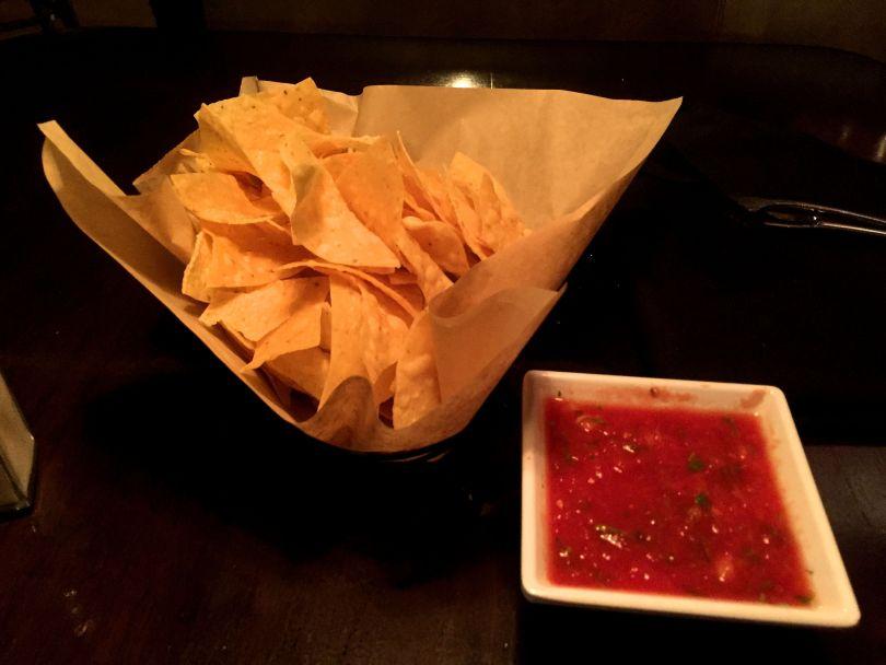 Chips and Salsa at La Vida Cantina Costa Mesa