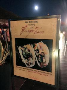 Fuego Tacos At La Vida Cantina Costa Mesa