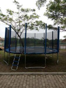 bendung slinga trampolin