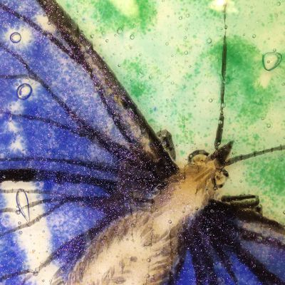 Detail - Purple Emperor Bowl