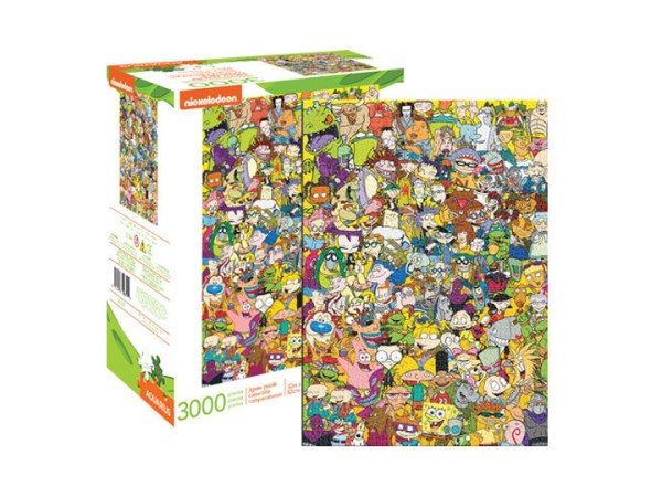 Nickelodeon Cast 3000 pc puzzle