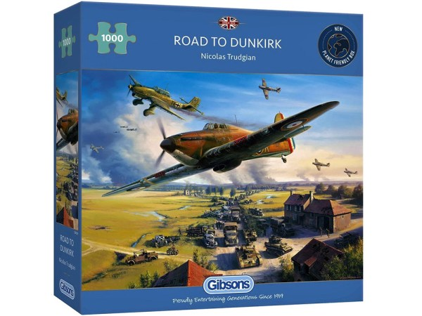 Road to Dunkirk 1000 piece puzzle