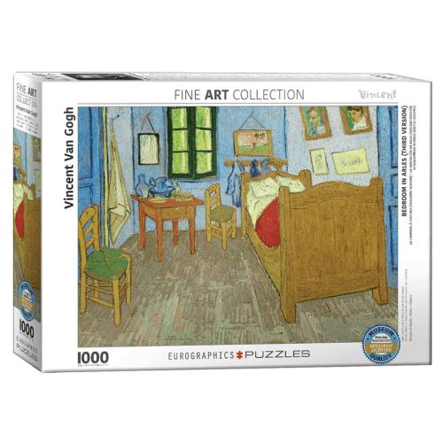Bedroom in Arles (Third Version) 1000 pc Puzzle