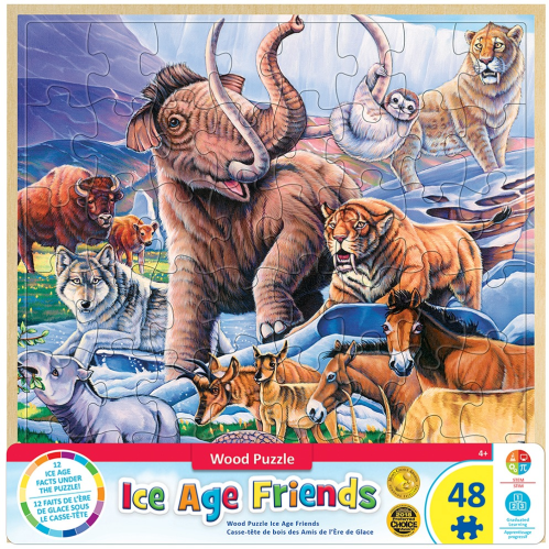Ice Age Friends 48 pc wooden puzzle