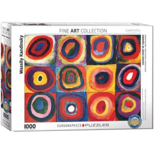 Colour Study of Squares 1000 pc Puzzle