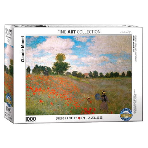 The Poppy Field 1000 pc Puzzle