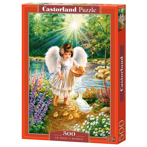 Angel's Warmth 500 pc Puzzle